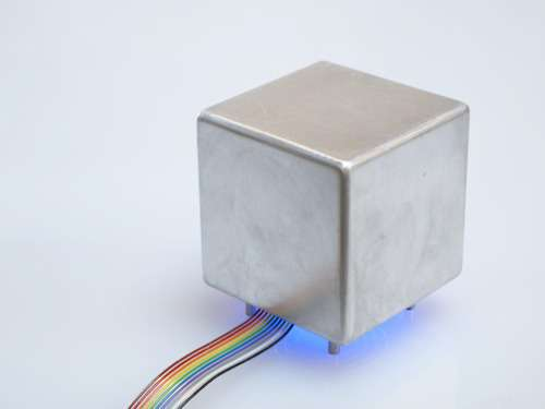 Haptic cube lets you feel tomorrow's temps