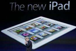 Heavy demand expected as iPad goes on sale Friday (AP)