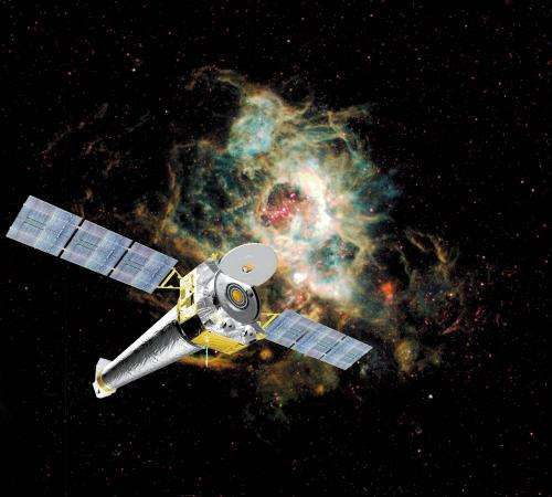 X-ray laser takes aim at cosmic mystery
