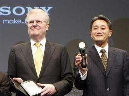 Hit by yen, Thai floods, Sony sees wider net loss (AP)