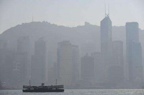 Hong Kong saw its worst pollution in years in August