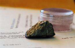 Houston lawyer on quest to find missing moon rocks (AP)