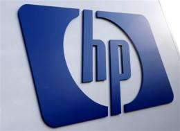 HP CEO pleads patience as earnings fall 44 pct (AP)