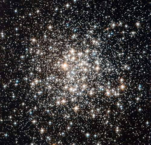 Hubble Has an Audience of Stellar Flashbulbs