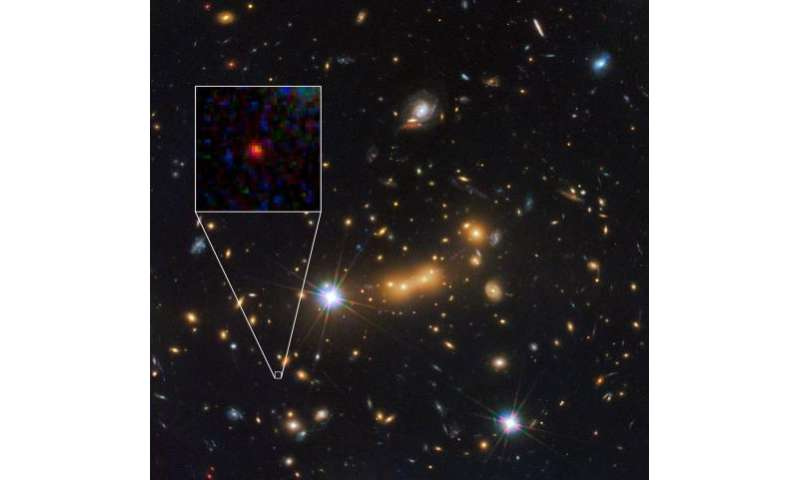 Hubble helps find candidate for most distant object in the universe yet observed