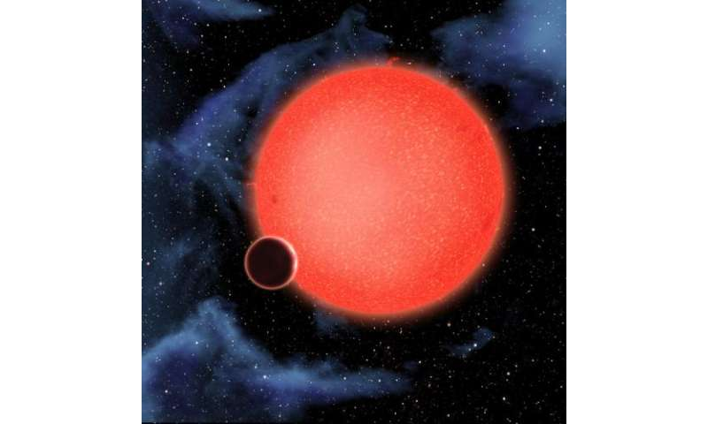 Hubble reveals a new class of extrasolar planet