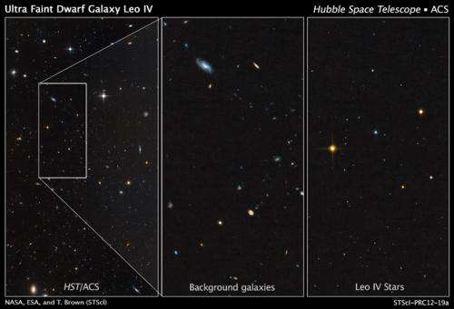 Hubble telescope unmasks ghost galaxies