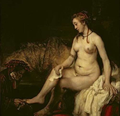 Rembrandt's Bathsheba did not have breast cancer after all