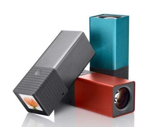 Image courtesy of Lytro, Inc. shows Lytro cameras