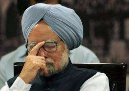 Indian PM Manmohan Singh warned of