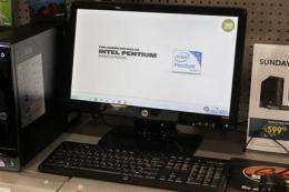 Intel 1Q earnings fall 13 percent, revenue steady (AP)