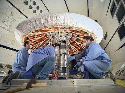 IRVE-3 flight hardware test sounding rocket