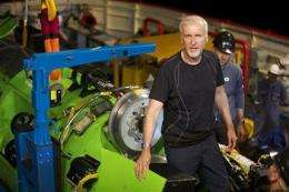 James Cameron, others to explore the real abyss (AP)