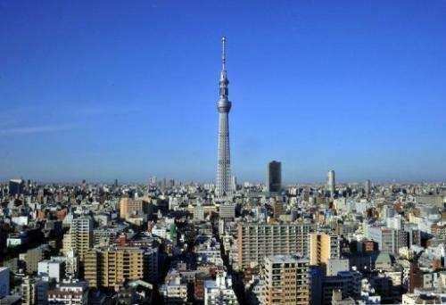 Japan finishes 'Sky Tree' - world's tallest communications tower