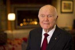 John Glenn to mark 50 years since orbit of Earth (AP)