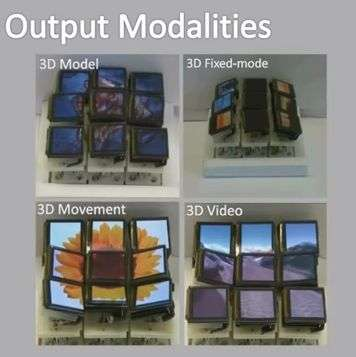 3-D display screen on mobile devices could be on the horizon (w/ Video)