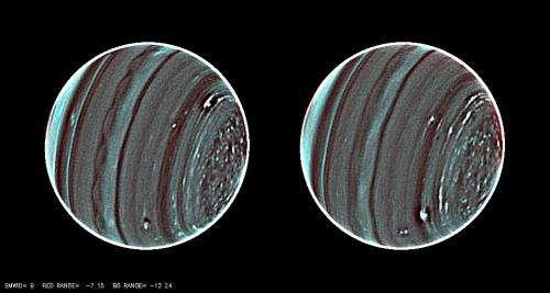 Keck observations bring weather of Uranus into sharp focus