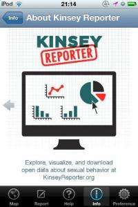 Kinsey Reporter: Free app allows public to anonymously report, share information on sexual behavior