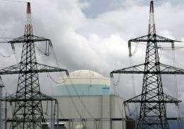 Krsko nuclear power plant in 2008