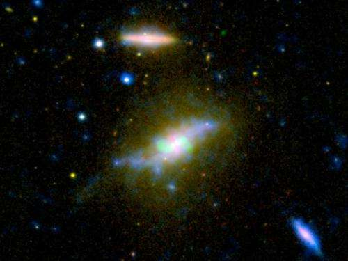 lCosmic 'leaf blower' robs galaxy of star-making fuel