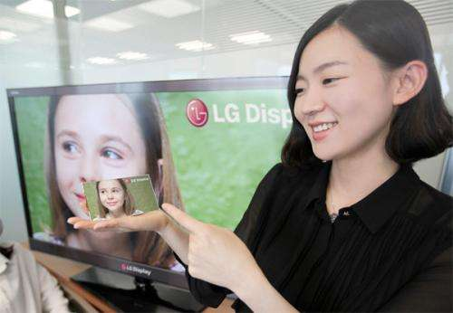LG Display will release HD panel for smartphones