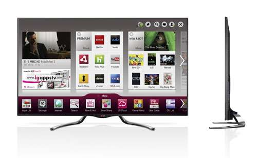 LG to showcase two new models featuring Google TV at CES 2013