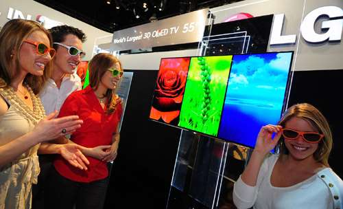 LG unveils large-screen cinema 3D Smart TV line-up optimized for cinema 3D experience