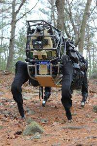 Darpa's Legged Squad support system (ls3) to lighten troops' load