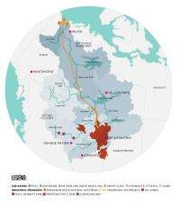 Major world interests at stake in Canada's vast Mackenzie River Basin