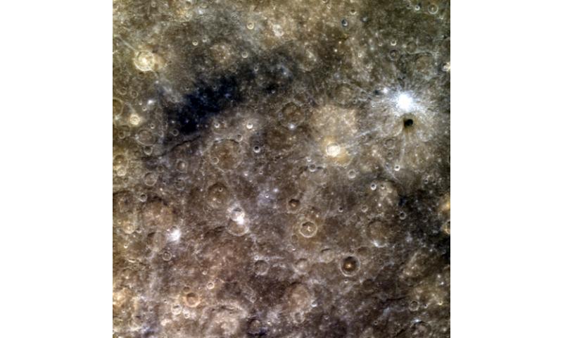 Mercury's many colors