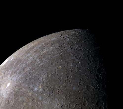 MESSENGER reveals Mercury's colors