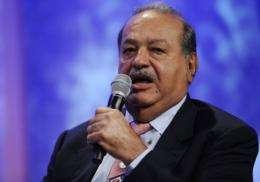 Mexican telecom magnate Carlos Slim