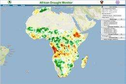 Princeton system tracks drought to aid disaster relief