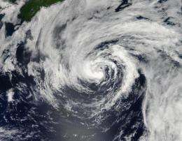 NASA catches birth of Tropical Storm Chris by the tail