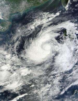 NASA identifies where Tropical Storm Gaemi's power lies