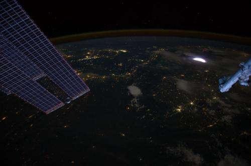 NASA seeing sprites