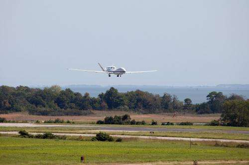 NASA's Global Hawk Mission Begins with Flight to Hurricane Leslie