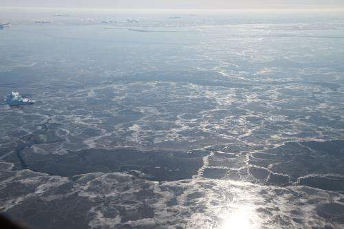 NASA's IceBridge seeking new view of changing sea ice