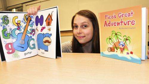 New app provides templates for kids to create their own stories