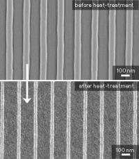 New lithography technique enables the production of nanoscale patterns of titania for high-tech applications
