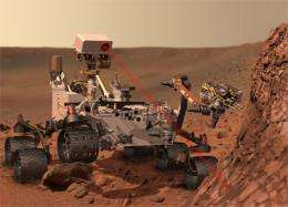 New mars rover digitally designed and tested