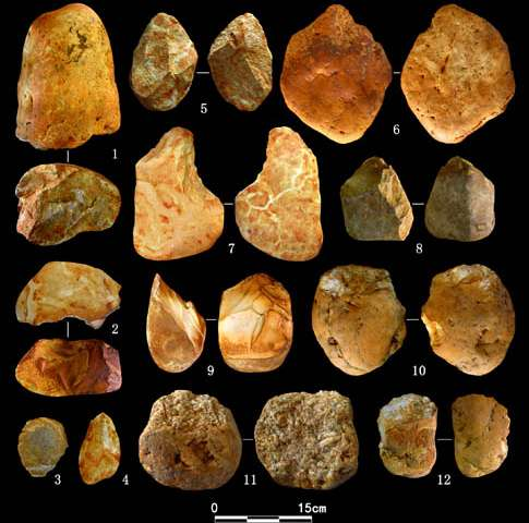 New Paleolithic remains found near the Liuhuaishan site in Bose Basin, Guangxi