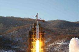 NKorea rocket launch shows young leader as gambler