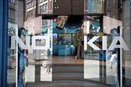 Nokia's flagship store in Helsinki