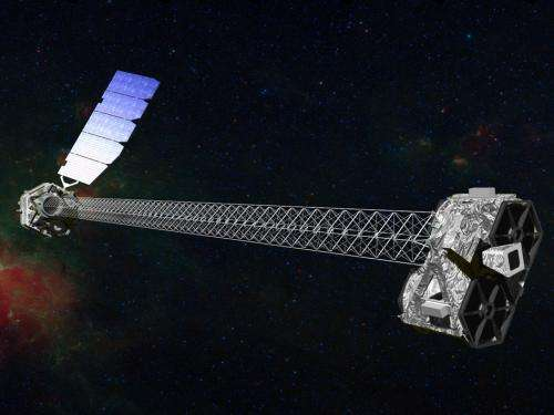 NuSTAR mated to its rocket