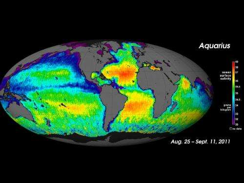 Ocean Salinity Pathfinder celebrates one year in orbit