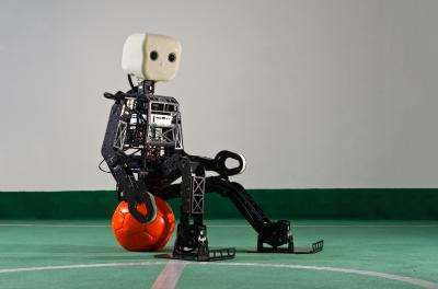 Off to the Future with a new Soccer Robot
