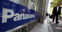Panasonic loss balloons for record red ink (AP)