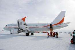 Patient Sucessfully Evacuated From Antarctica