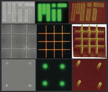 Patterning defect-free nanocrystal films with nanometer resolution